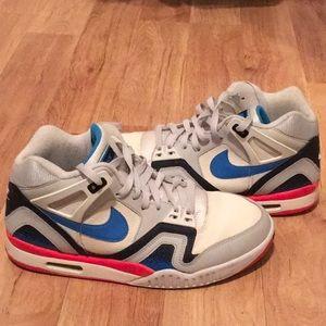 Nike air max - blue/silver/white